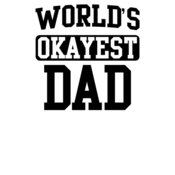 000295 Worlds Okayest Dad wtp